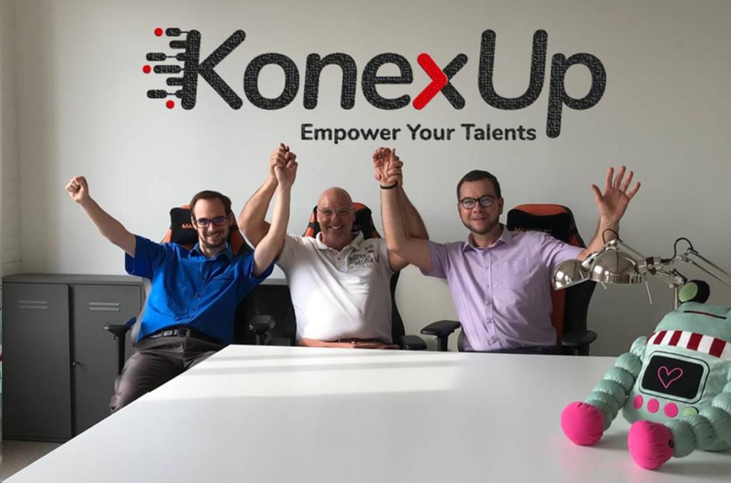 L'équipe fondatrice de KonexUp