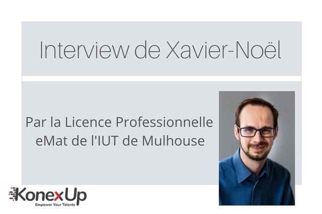 Xavier Noël Culmann manager chez Konexup