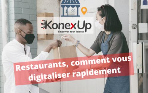 digitalisation restaurants